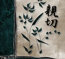 Shinsetsu (Kindness) : Japanese Art by soniei