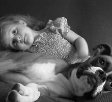 best friends...lex and bandit by cortypants