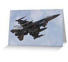 Firepower Greeting Card