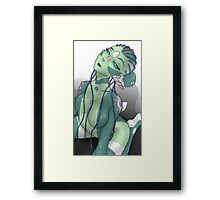 Green is the Color Framed Print