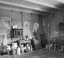 Pantry at Laura Creole Plantation by Bonnie T.  Barry