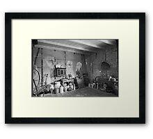 Pantry at Laura Creole Plantation Framed Print