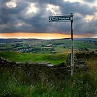 Public Footpath Sign by Gavin Sawyer