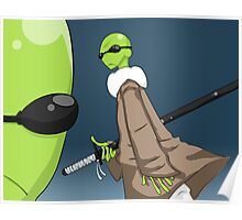 Amphibias Ninjacus Poster