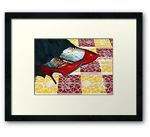 The Day the Witch Came to Tea Framed Print