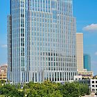 Pier One/Chesapeake Energy Building - Fort Worth, Texas USA by ArtCooler