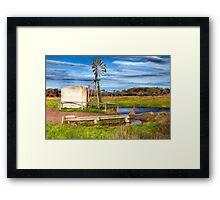 Down on the Farm Framed Print