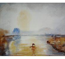 After J.M.W. Turner - Norham Castle, Sunrise Photographic Print