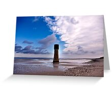 Humber Estuary - Tides Out Greeting Card
