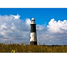 Spurn Point Lighthouse Photographic Print