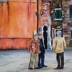 The Three Men of Burano by Jamie Alexander