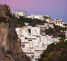 Casares from the West, sunset~ by Liza Kirwan