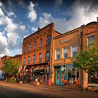 Downtown Jonesborough by C David Cook