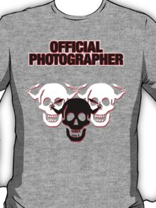 Official Zombie Photographer T-Shirt