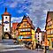 ROTHENBURG OB DER TAUBER - BAVARIA by Michael Sheridan