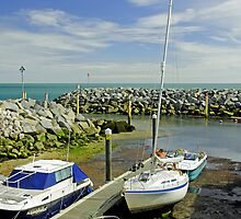 Ventnor Harbour by Rod Johnson