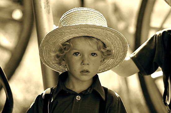Amish Boy by Monte Morton