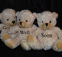 Get Well Soon Bears by Karen Martin IPA