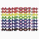 Manfoot.in Logo tee-shirt  by ManfootIN