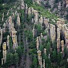 Land of Standing up Rock ~ Chiricahua National Monument, Arizona USA by Vicki Pelham