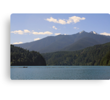 Lake Mills, Olympic National Park, Washington Canvas Print