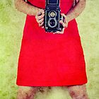 Vintage Camera by Sharonroseart