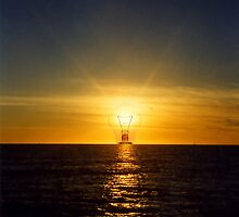 Light in the Gulf of Mexico..... by DaveHrusecky