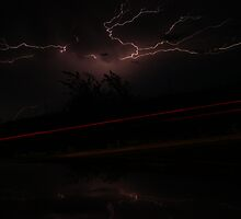 Lightning storm on Friday the 13th part 2 by agenttomcat