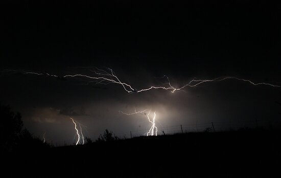 Lightning storm on Friday the 13th part 3 by agenttomcat