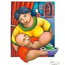 MOTHER AND CHILD by palma tayona