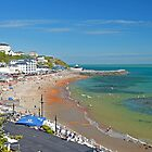 Ventnor Beach and Seafront by Rod Johnson