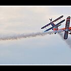Stearman X2   Team Breitling Wingwalkers by Gordon Holmes