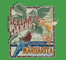 screaming parrot beach bar by redboy
