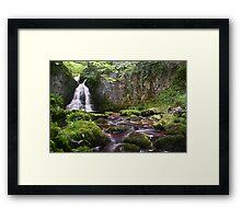 Wharfedale Waterfall Framed Print