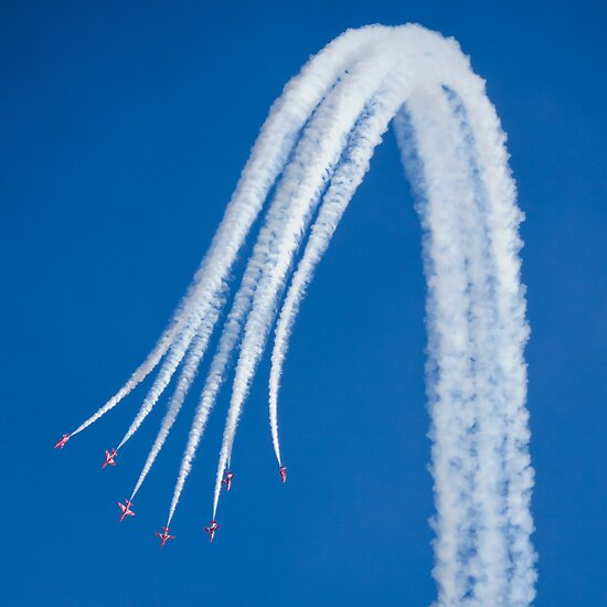 Red Arrows IV by TheWalkerTouch