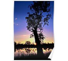 Peek-a-boo.....fading glow Poster