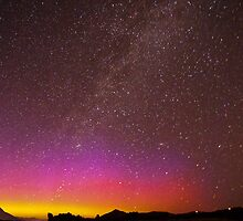 Northern Lights Over the Snake River by cavaroc