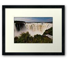Iguazu Falls - Devil's Gorge #2 Framed Print