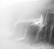 Misty Waterfalls by Gabriel Skoropada