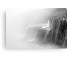 Misty Waterfalls Canvas Print