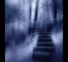 The Old Stairs by Theodore Kemp