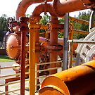 Gas Works Pipes part two by Mike Cressy