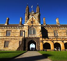 The University of Sydney, Australia by meelin