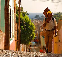 Cuban Tres Player by elbladeo