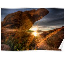 A Rock and a Sunny Place Poster