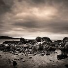 Winter dawn King Island by Karen Scrimes