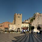 Piazza IX Aprile, Taormina by Matthew Walters