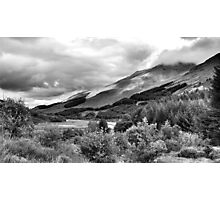 The View From Crianlarich Community Woodland Photographic Print