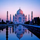 My LOVE to YOU , Taj Mahl        INDIA by yoshiaki nagashima