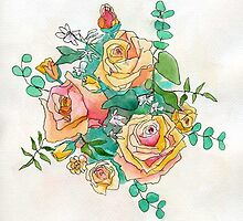 Wedding Bouquet by Patsy Smiles